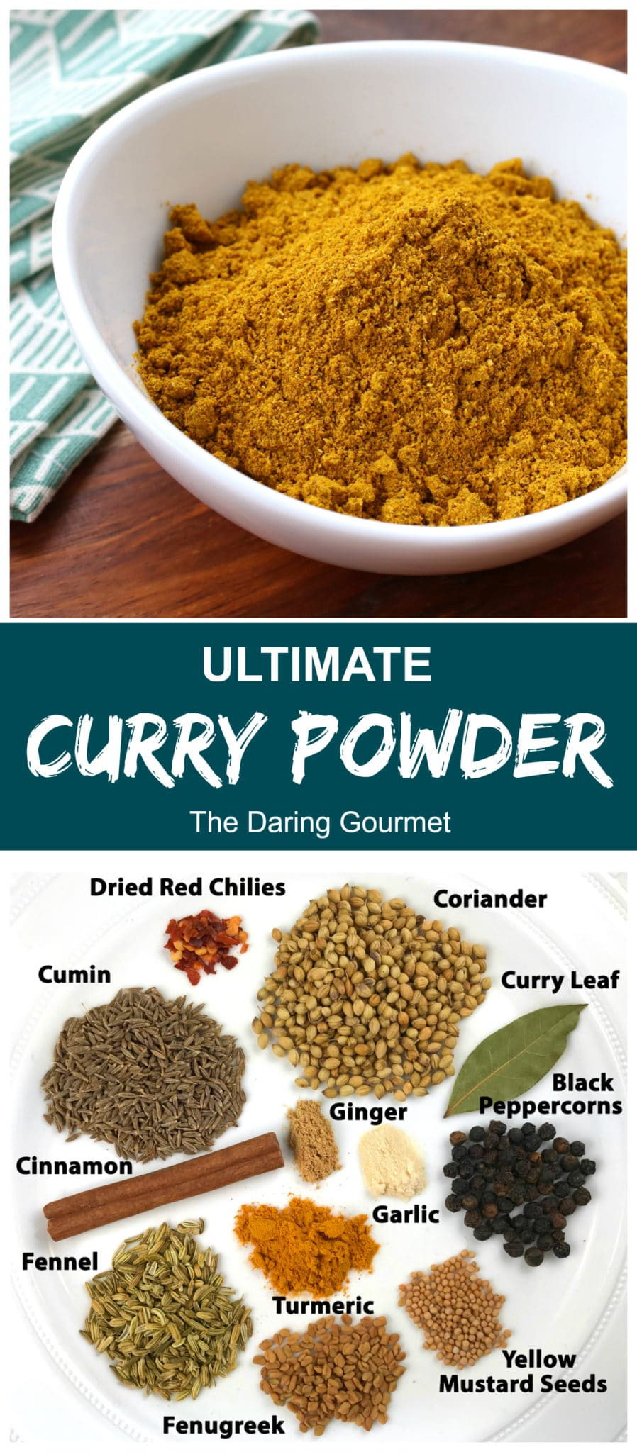 curry powder recipe best homemade authentic traditional