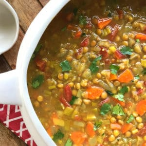 curried lentil soup recipe best healthy vegetarian vegan gluten free