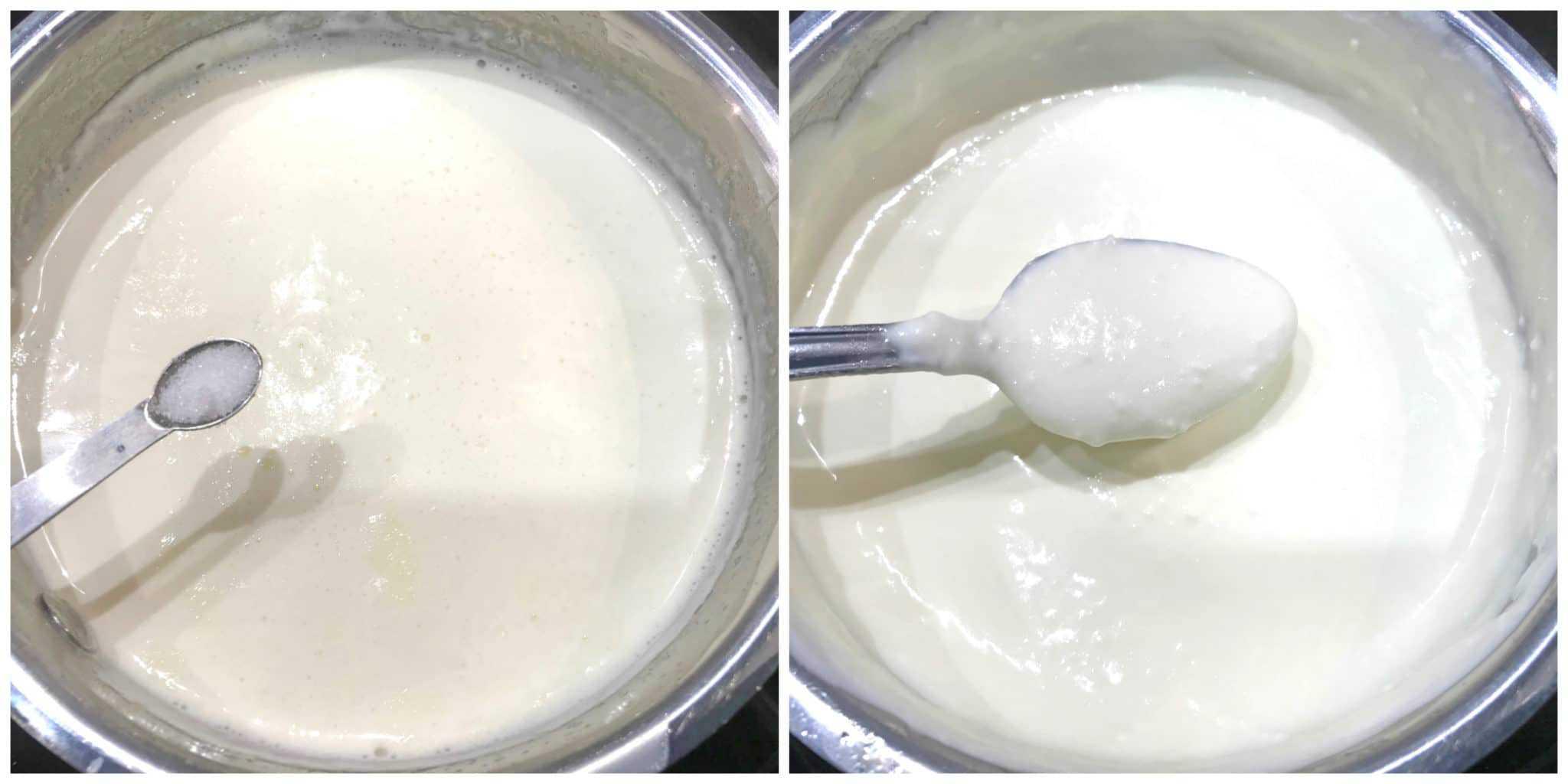 thickening whipping cream tartaric acid
