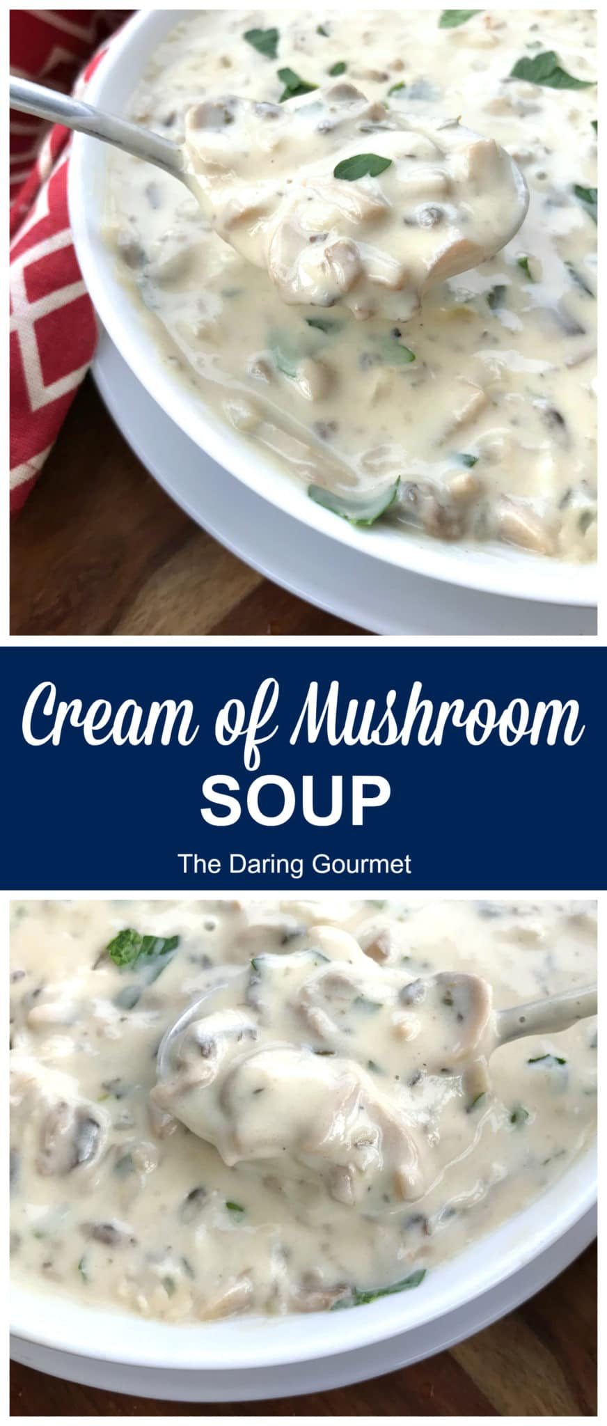 cream of mushroom soup recipe best homemade from scratch