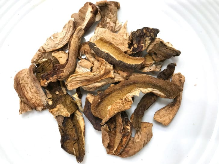 porcini mushrooms dried