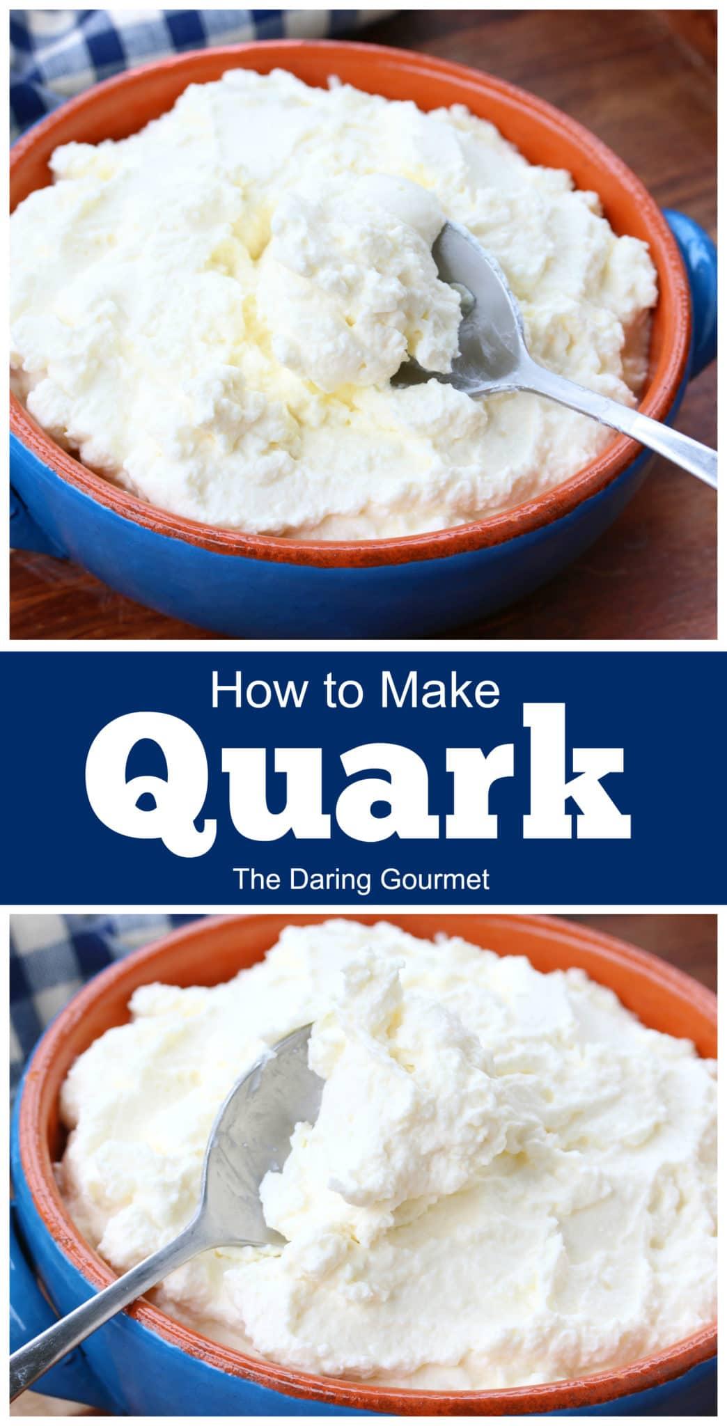how to make quark homemade recipe