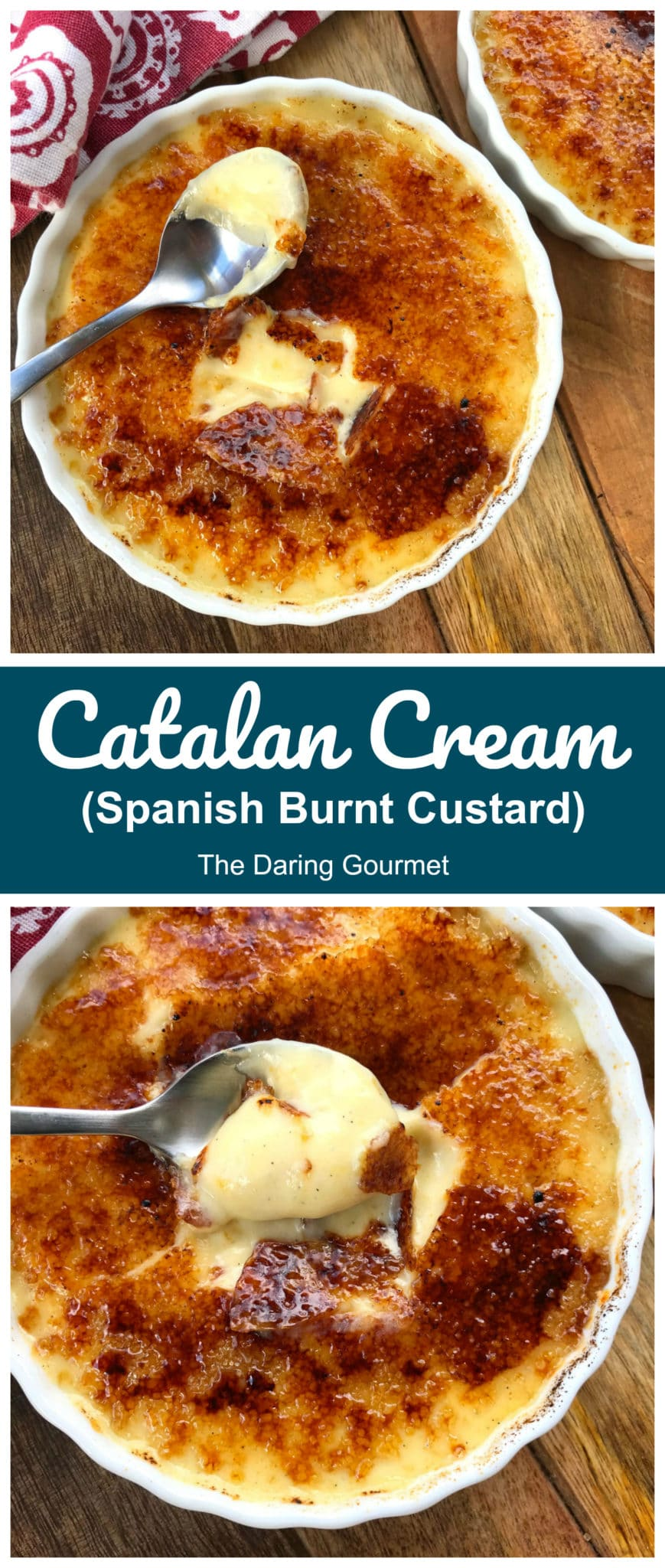 catalan cream recipe crema catalana custard burnt sugar orange lemon cinnamon Spanish creme brulee