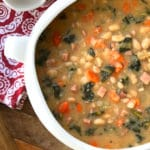 ham bean soup recipe best thick chunky vegetable aneto