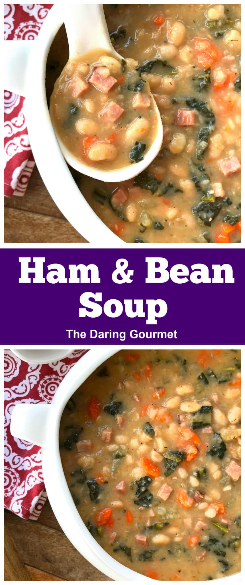 ham bean soup recipe thick chunky best aneto