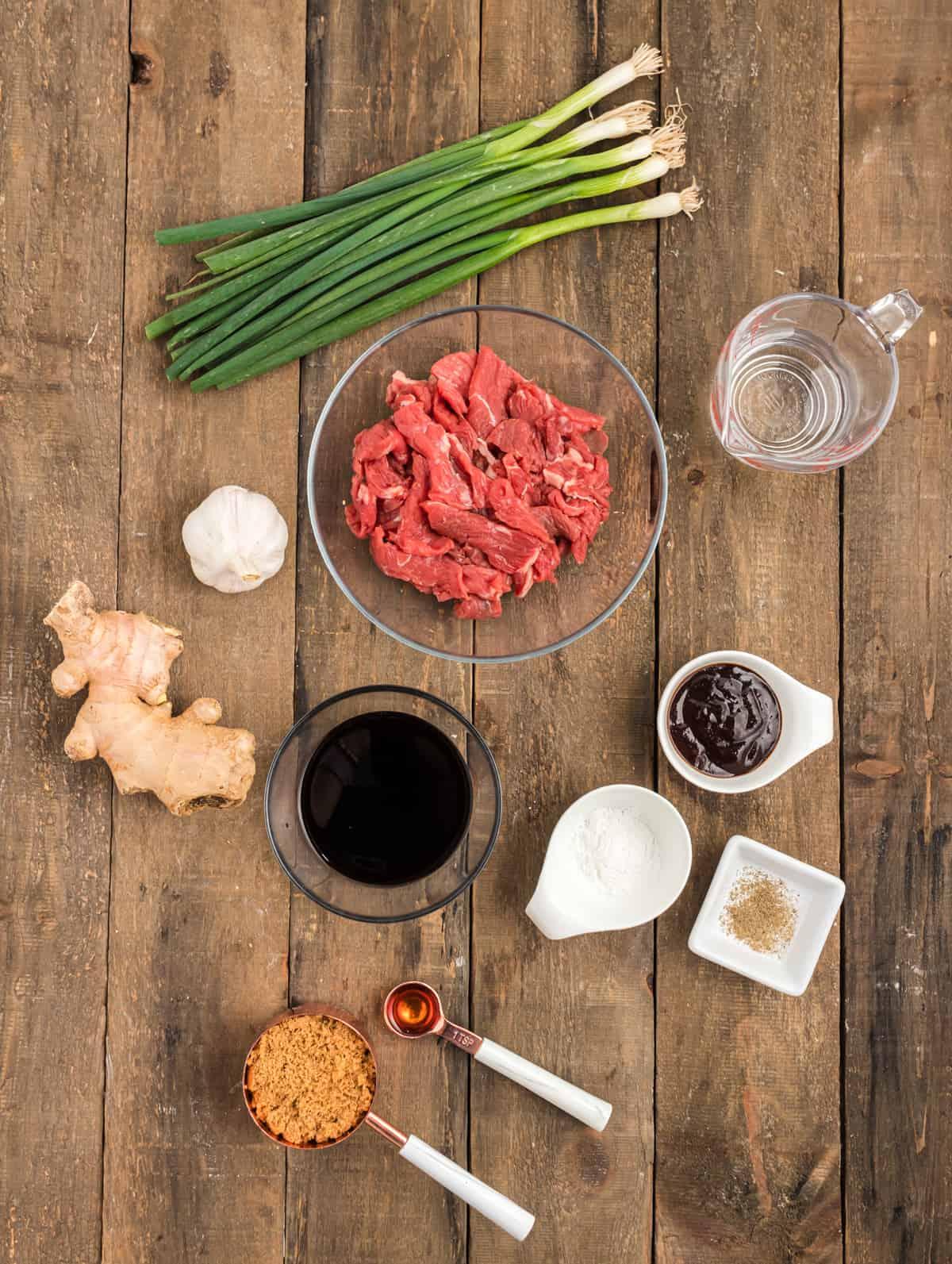 mongolian beef recipe ingredients
