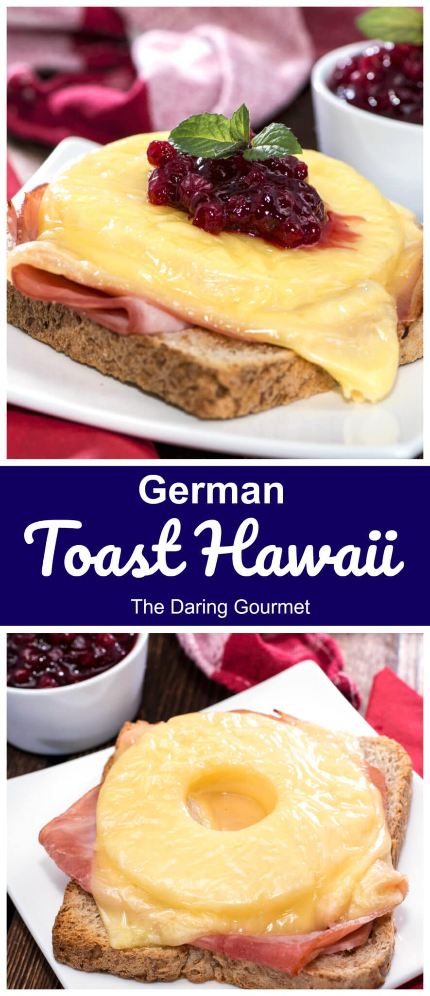 toast hawaii recipe homemade german pineapple ham cheese sandwich