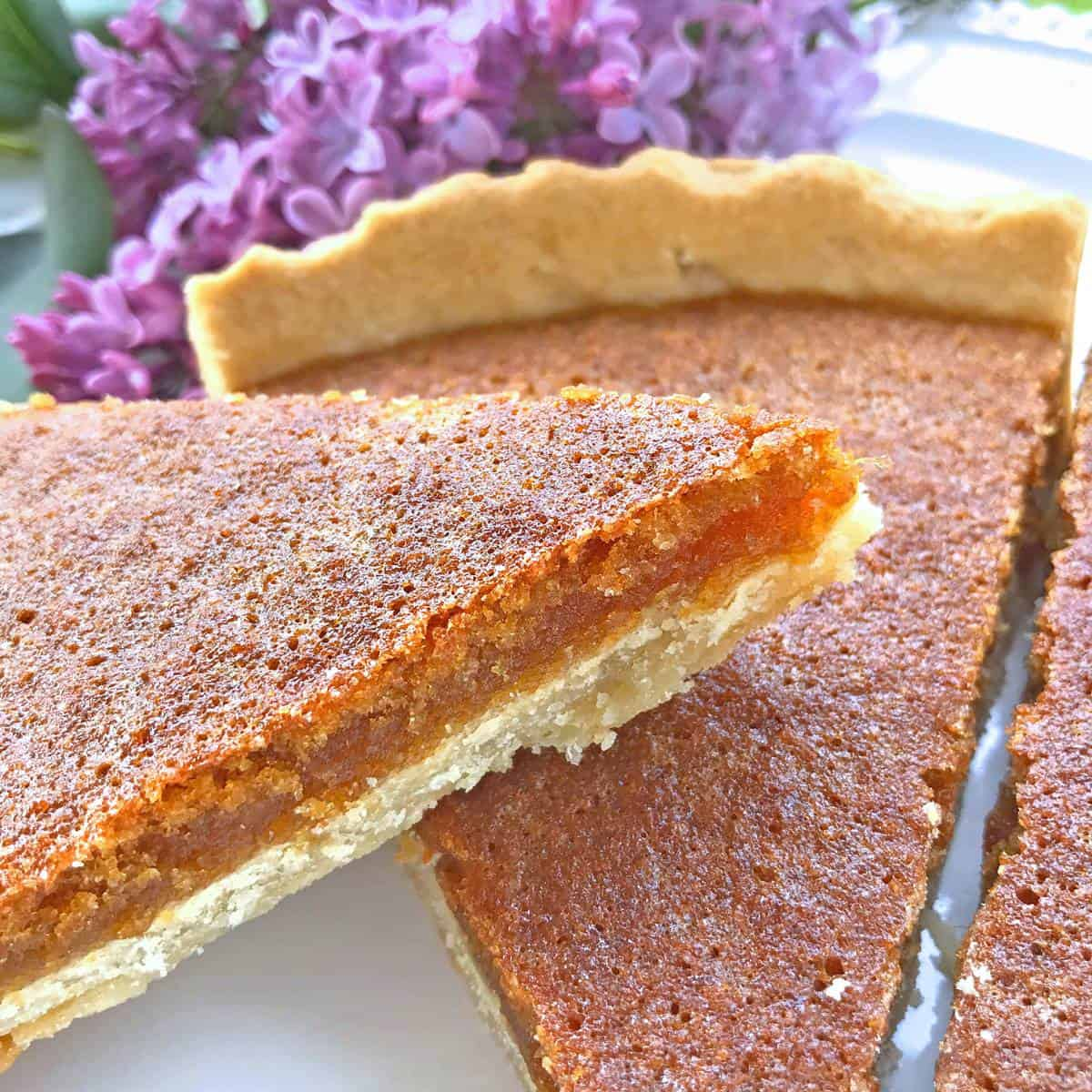 Traditional Treacle Tart The Daring Gourmet