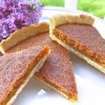 treacle tart recipe best traditional English British pastry tea shortcrust shortbread butter lard golden syrup