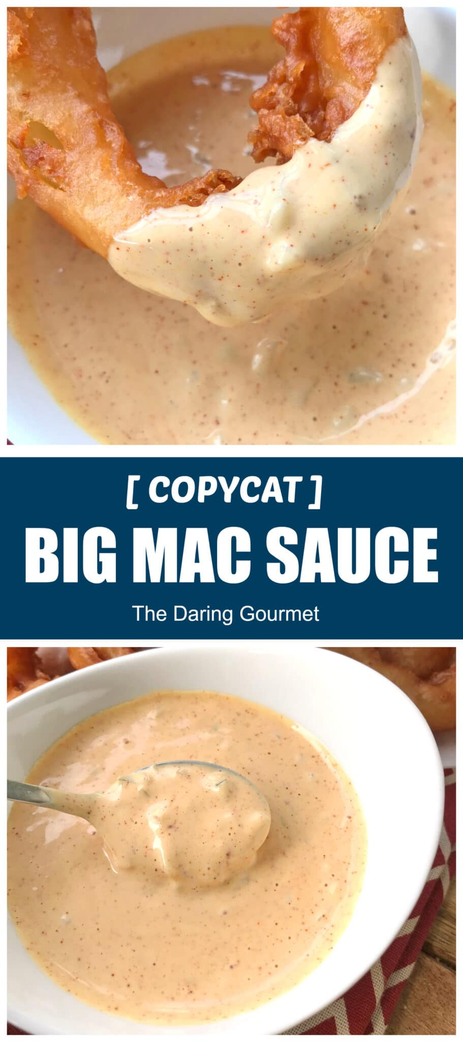 big mac sauce recipe best copycat mcdonald's special condiment dip dressing