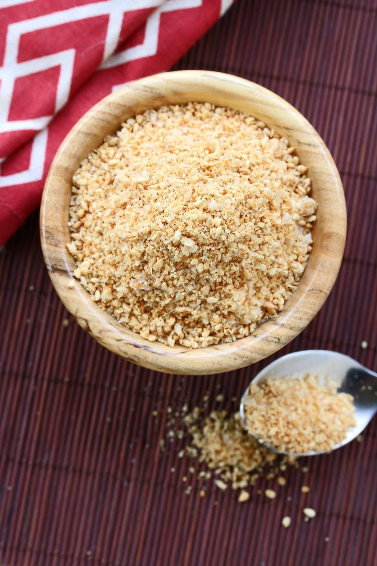 gomasio recipe japanese sesame salt seasoning blend authentic traditional low sodium