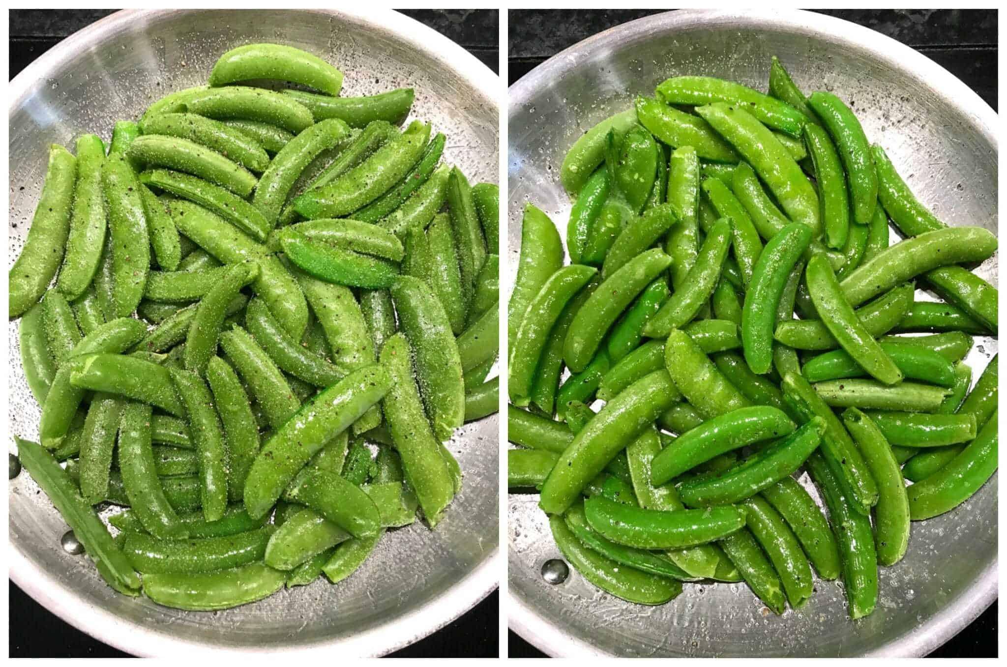 sauteed snap peas recipe