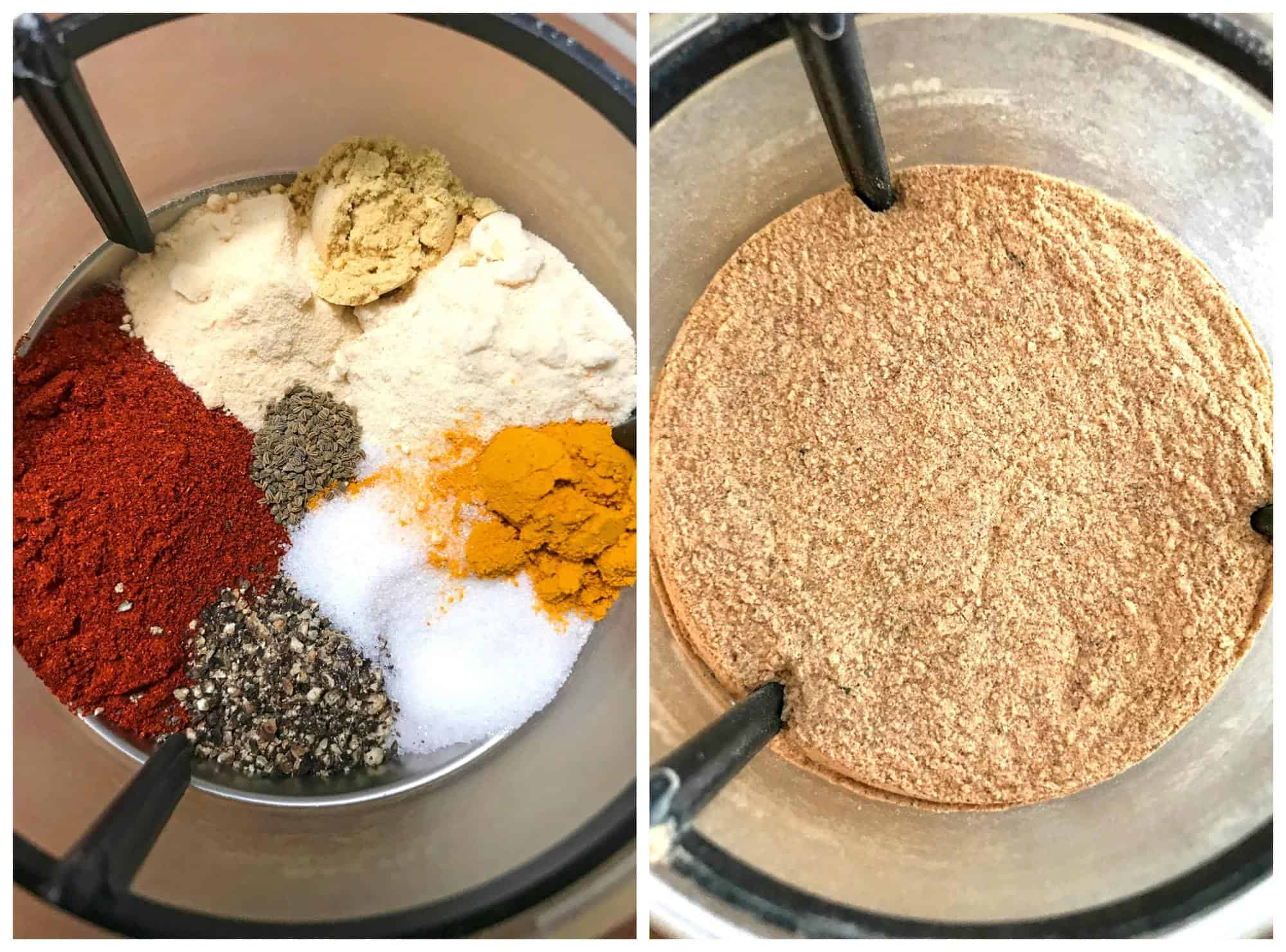 grinding spices