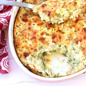 zucchini au gratin recipe french tian cheese rice courgette julia child