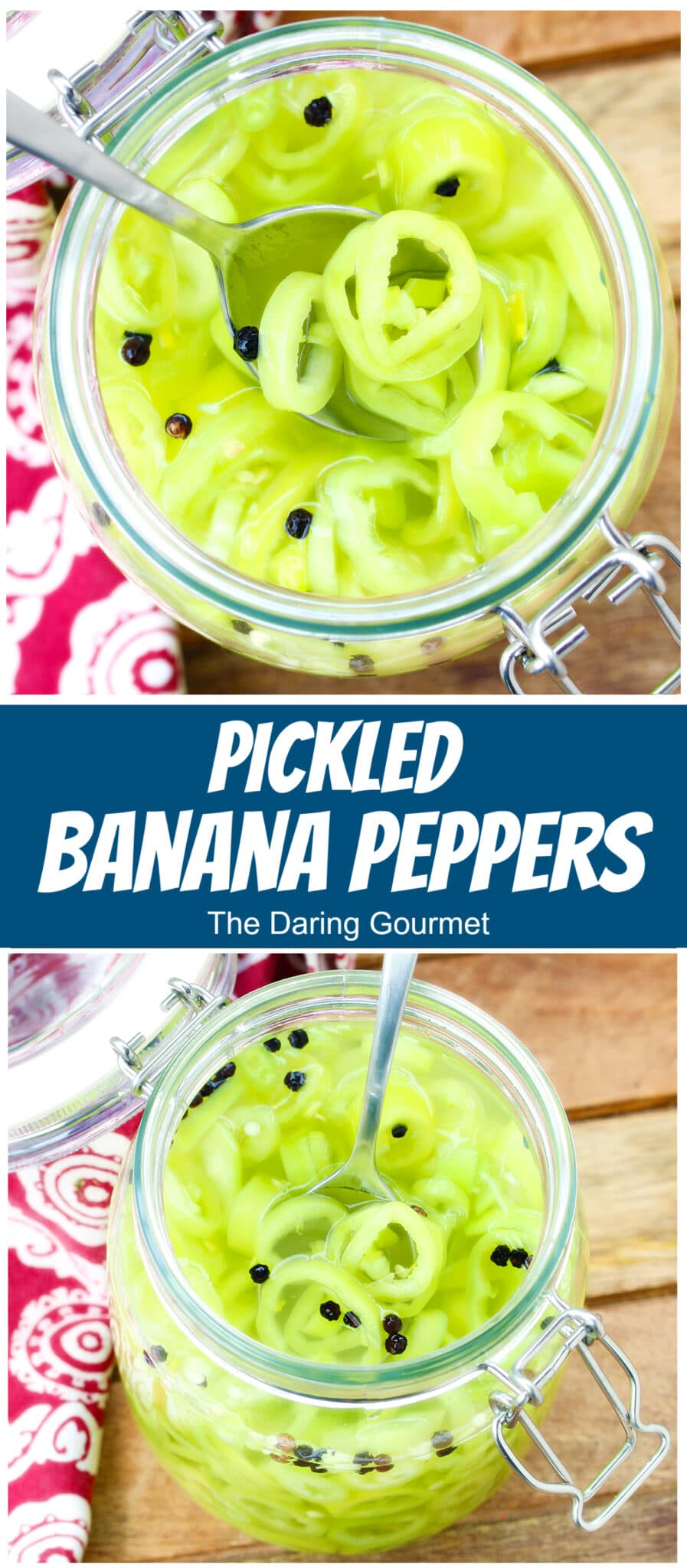 pickled banana peppers recipe pepperoncini canning preserving