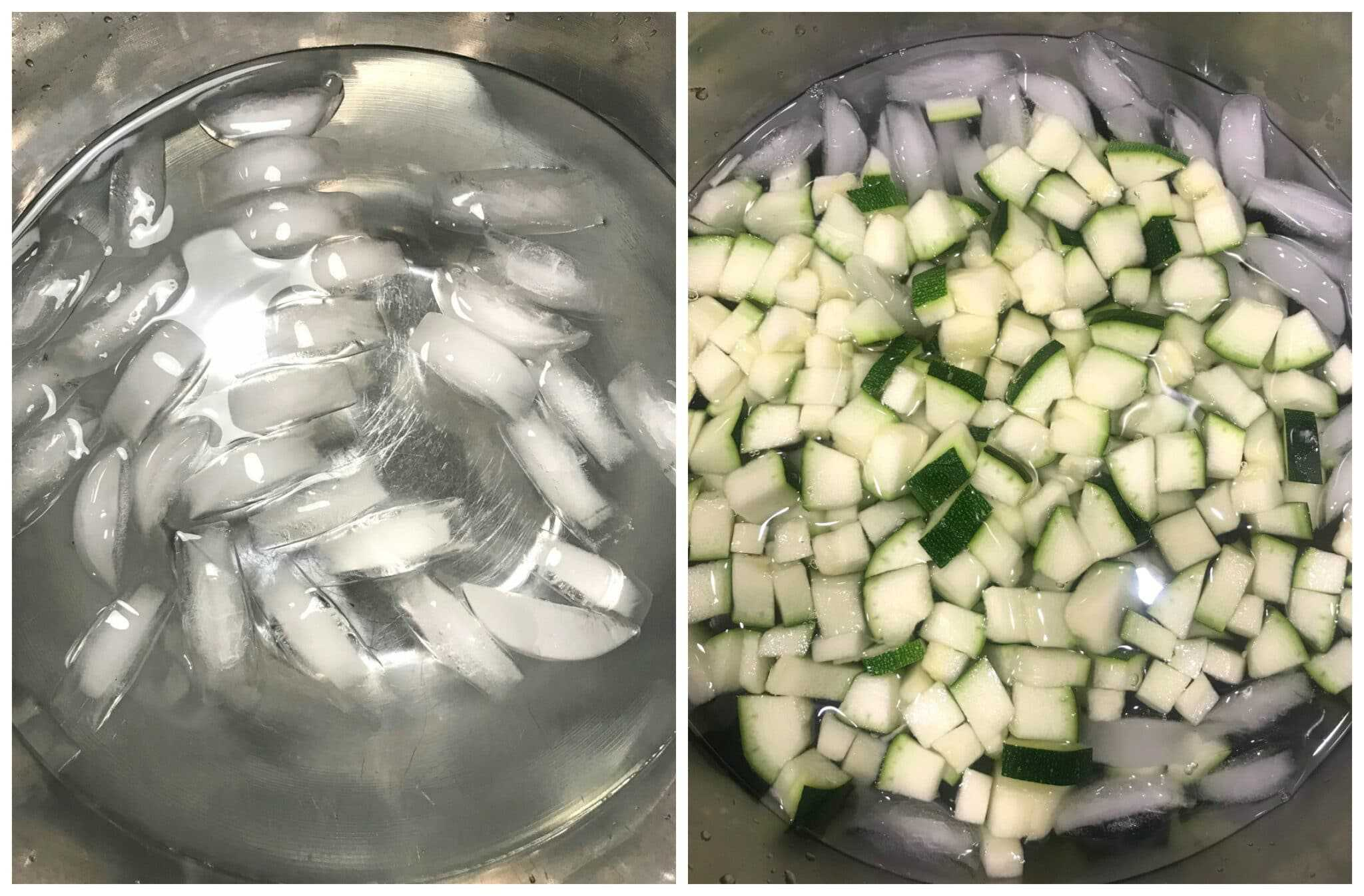 how to blanch zucchini
