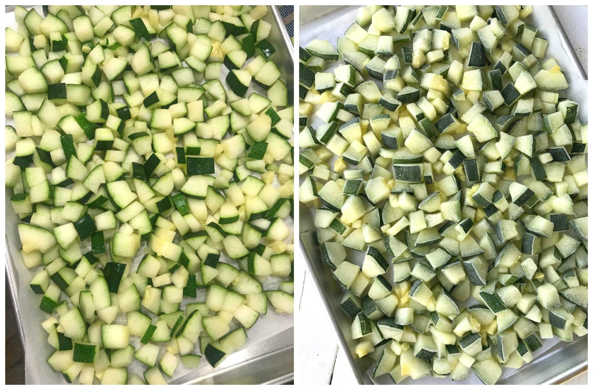 how to freeze zucchini blanch preserve
