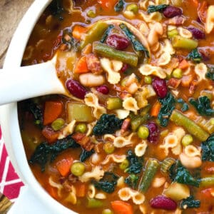 minestrone soup recipe authentic italian traditional