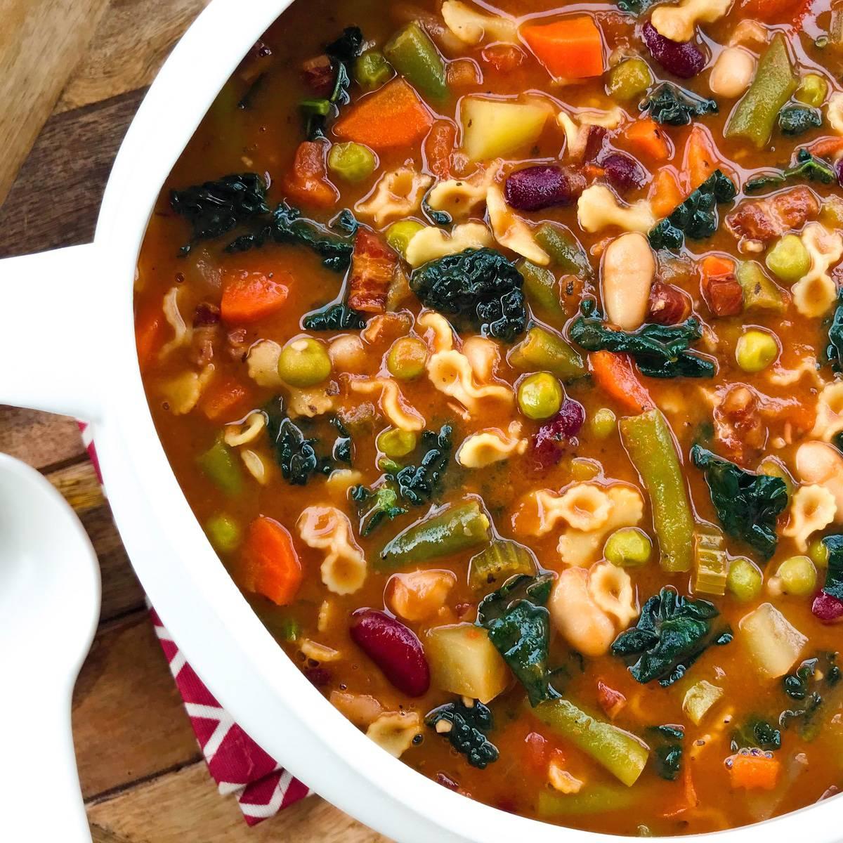 minestrone soup recipe authentic italian traditional