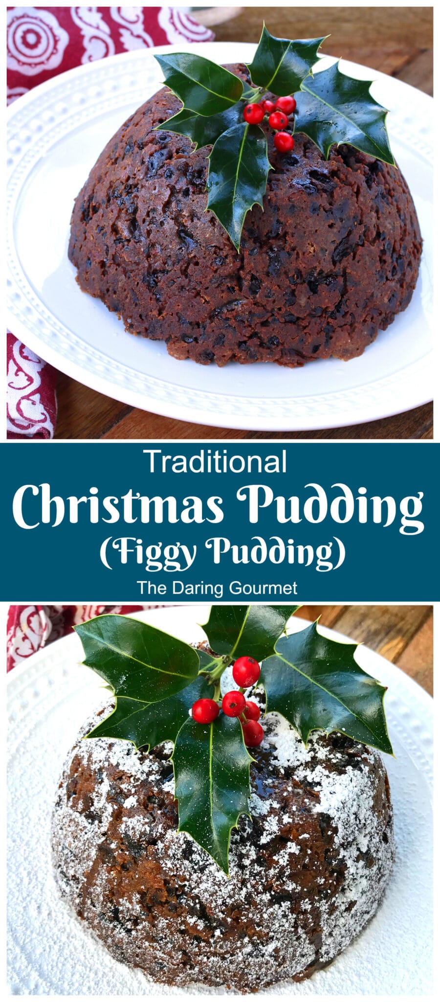 christmas pudding recipe authentic traditional best figgy pudding plum pudding