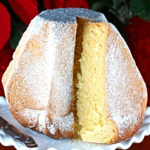 pandoro recipe traditional authentic Verona Christmas bread cake yeast lemon best Italian