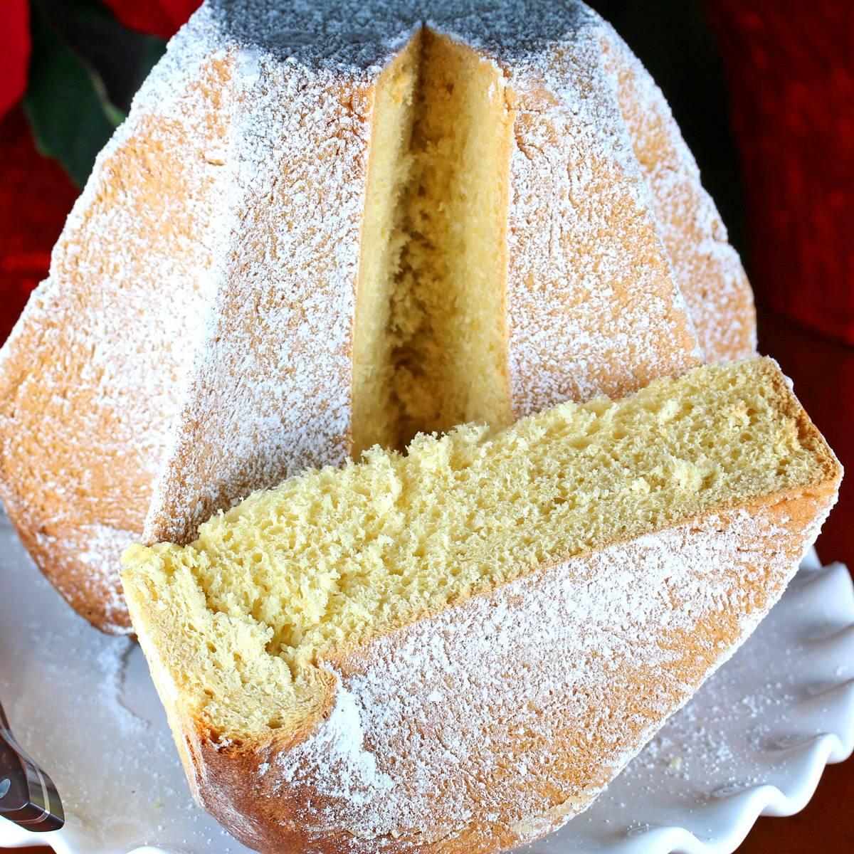 pandoro recipe traditional authentic Verona Christmas bread cake yeast lemon best Italian