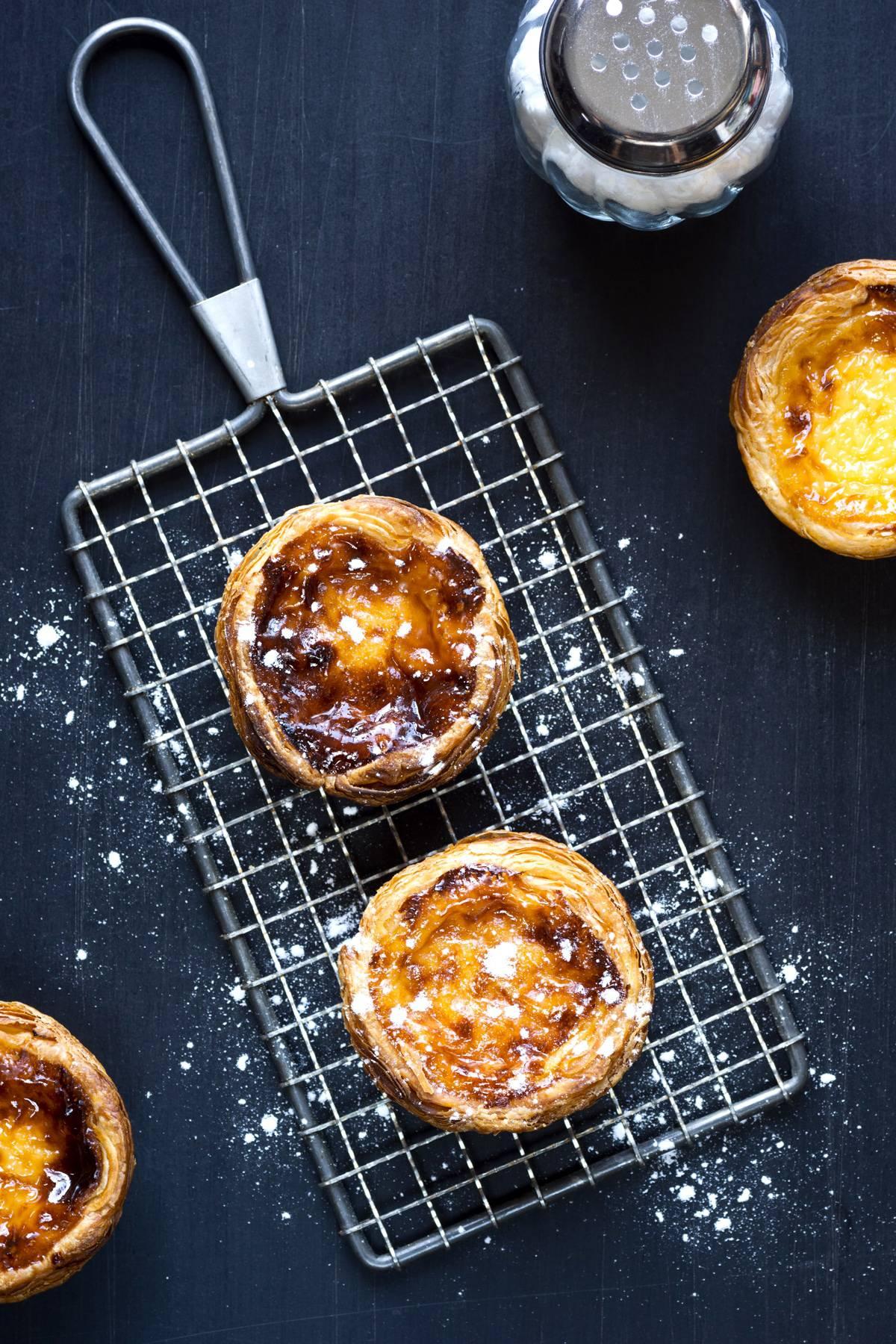 pasteis de nata rough puff pastry recipe