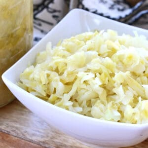 how to make sauerkraut recipe homemade traditional german fermented cabbage probiotics easy