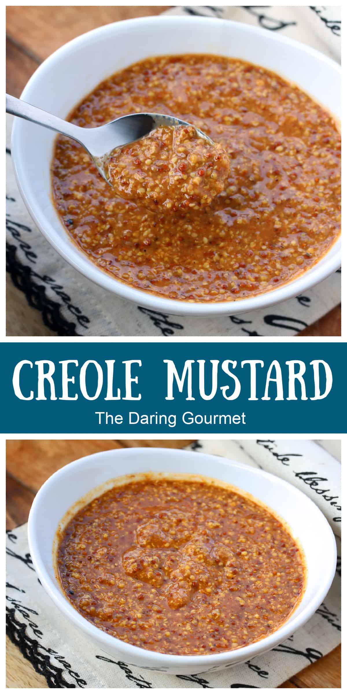 creole mustard recipe cajun spicy molasses white wine vinegar dipping sauce