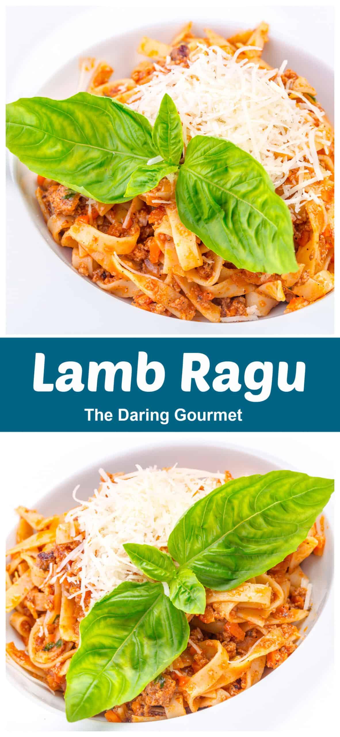 lamb ragu recipe bolognese italian best red wine carrots celery bacon