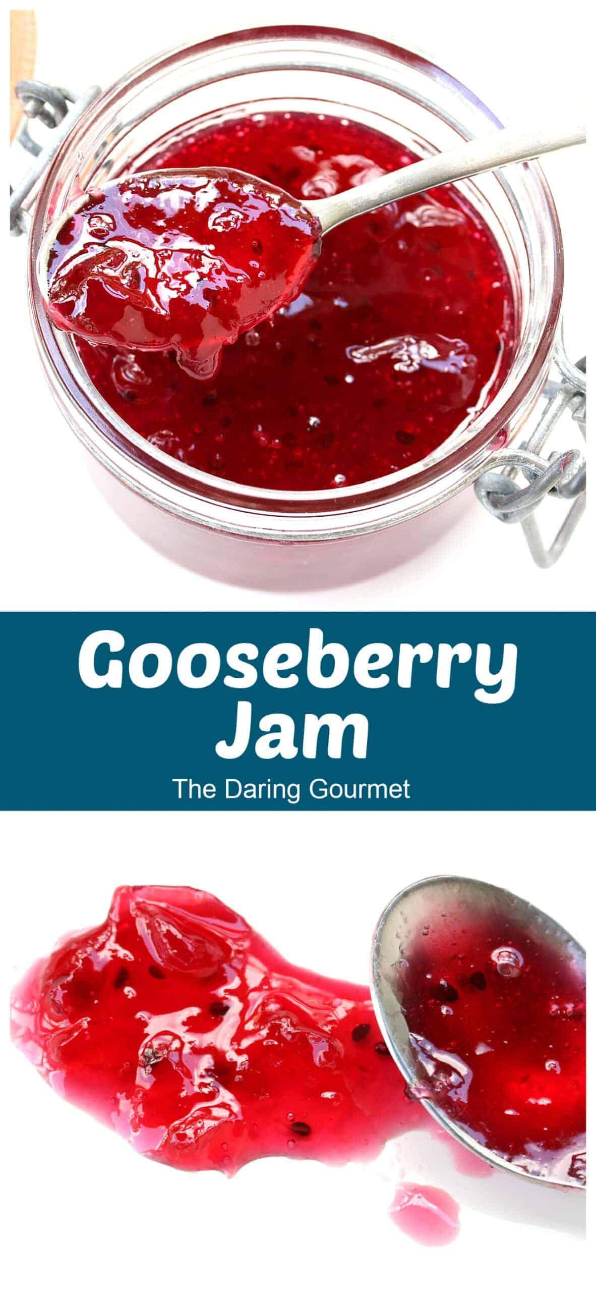 gooseberry jam recipe without pectin