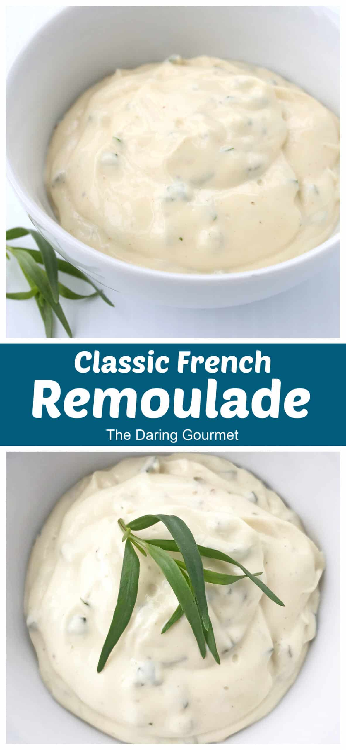 remoulade recipe best classic french sauce condiment mayonnaise pickles cornichons tarragon