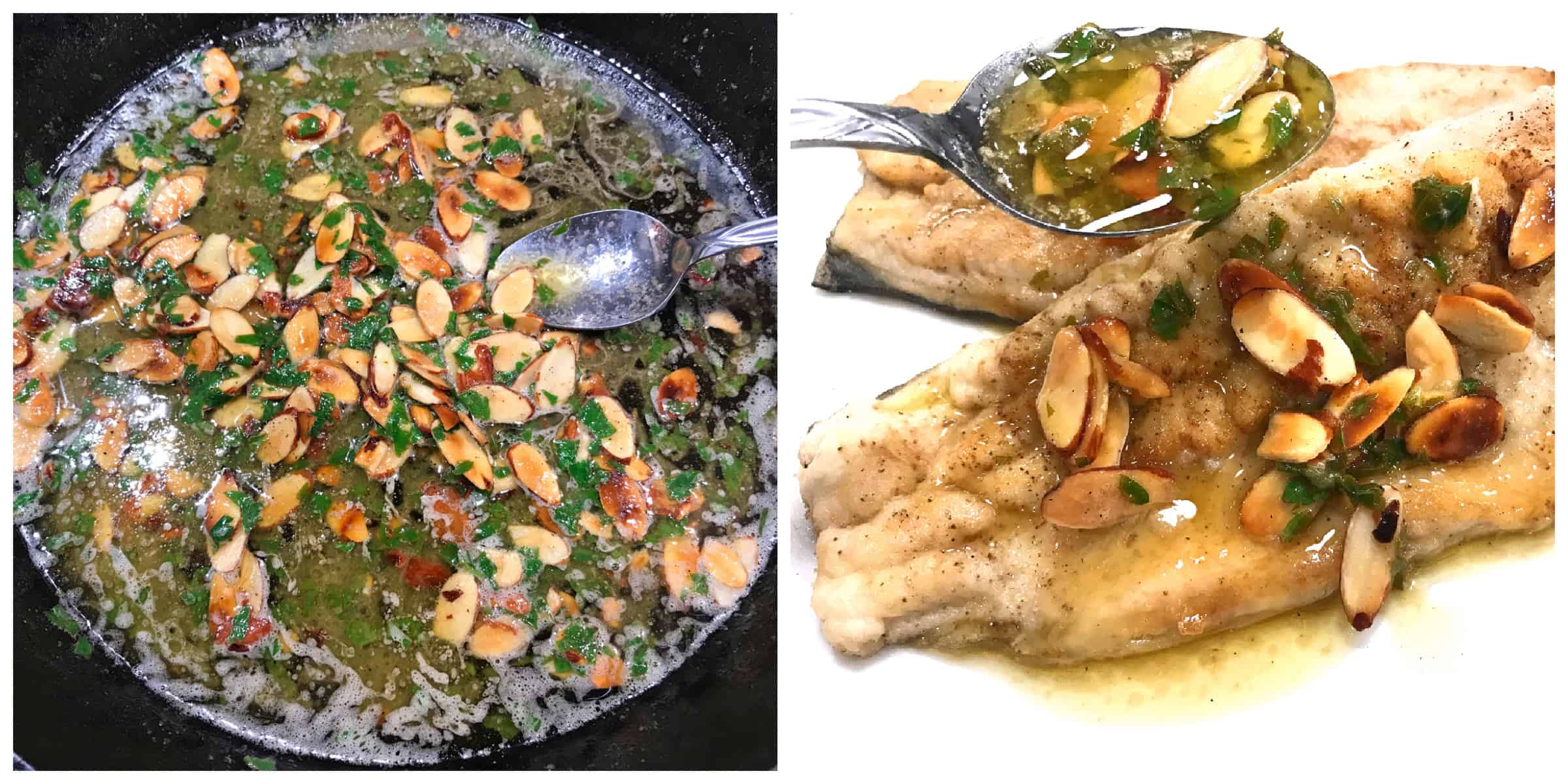 trout almondine recipe best amandine French classic traditional almonds butter
