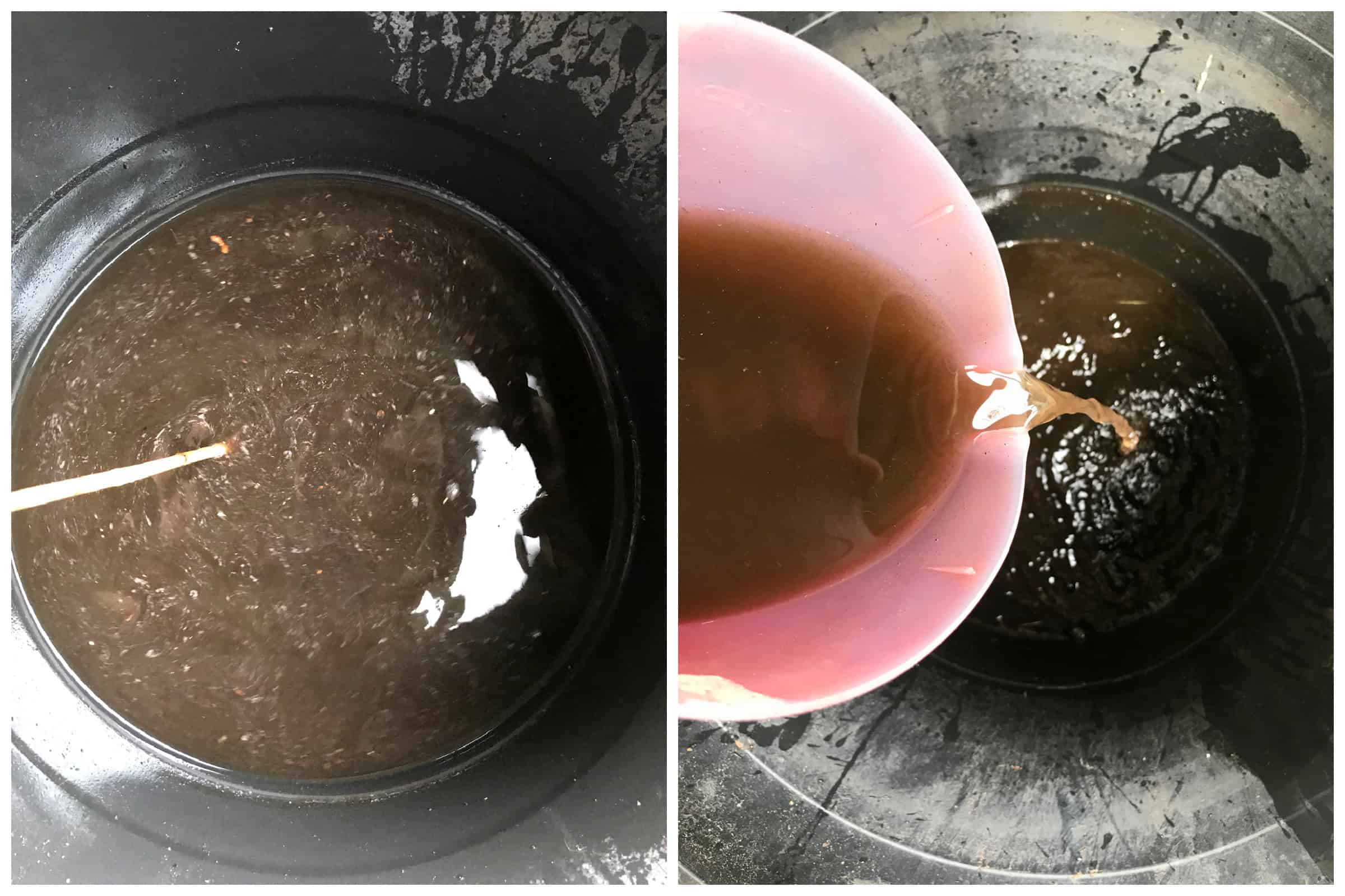 worm casting tea how to make recipe gardening vegetables compost