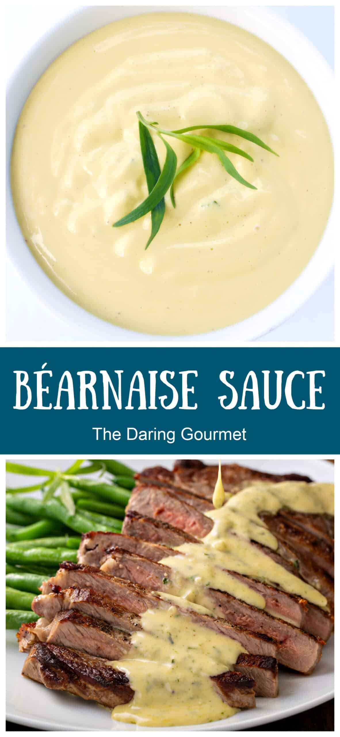 bearnaise sauce recipe French steak condiment classic traditional authentic remoulade tarragon