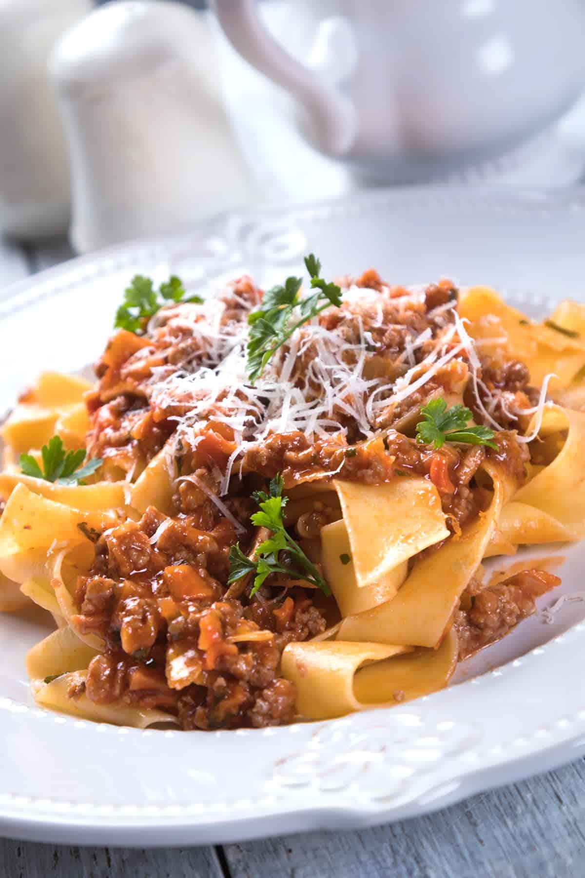 beef ragu recipe beef pasta bolognese best Italian from scratch