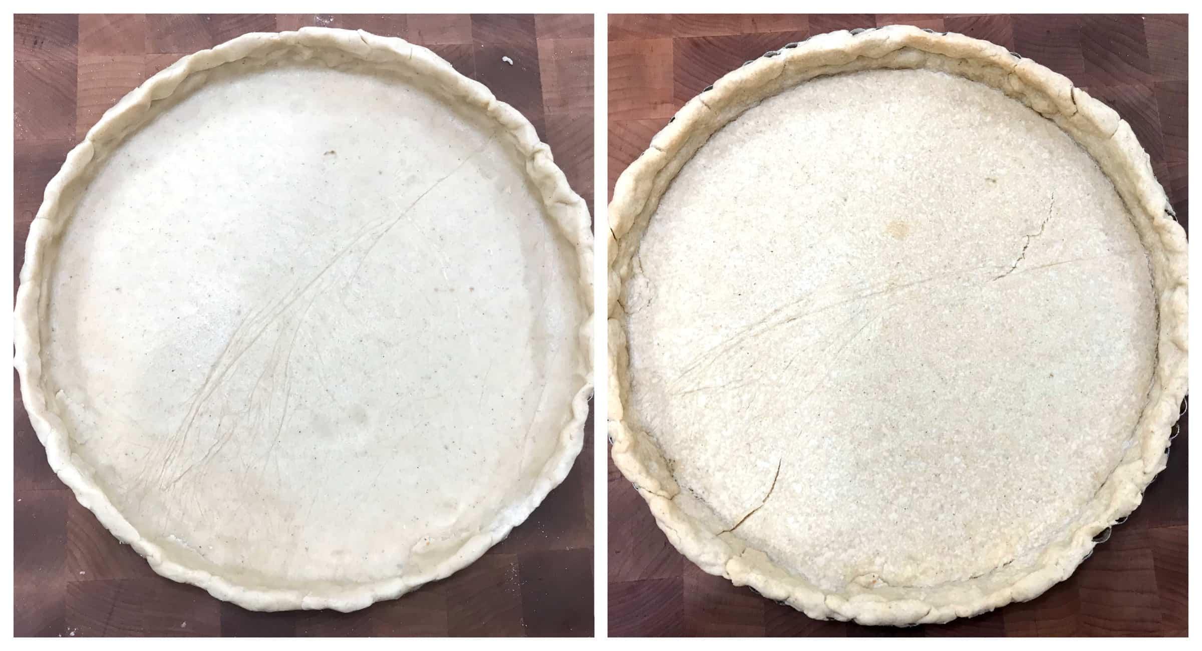 bake pastry crust